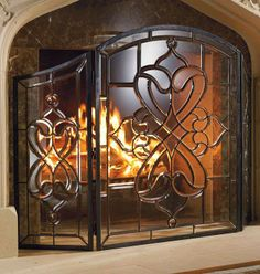 Turn your typical gas fire into a glittering show of flames!