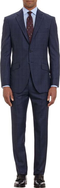 Suit Up SUITS ONLY!  Prince of Wales Two-Button Suit Search for more Suits by Richard James on Wantering.