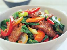 This crispy and delicious twice-fried sichuan beef stir fry is a popular Chinese dish.