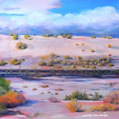 Wash at Point Happy, painting by artist Diane Morgan