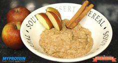 Mhh, Apfelkuchen Protein Porridge - so kann ein erfolgreicher Tag ruhig öfters starten.Mit diesem Rezept zeigen wir dir,wie du dein Protein Porridge machst.