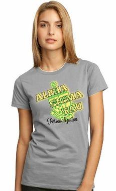 Alpha Sigma Tau Symbol Crest Tee