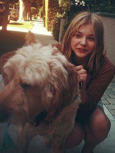 Chloe & her Doggie