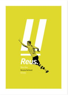 Football Players Revisited by Elliott Lee, via Behance