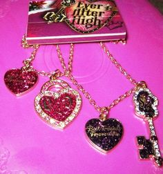 Ever After High BFF Best Friends Forever After Necklaces