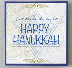 In time for Hanukkah,this is my original graphic design print laminated onto a wood museum style surface. The finished hanging is 10x10 inches with 7/8 inch sides, painted a rich dark blue for a nice polished look. Ready to go on the wall with a sawtooth hanger attached to back,or I can attach a ribbon hanger, your choice!  More Judaica in my shop at the links below:  https://www.etsy.com/listing/483029749/happy-hanukkah-holiday-decor-peace-love?ref=shop_home_active_2…