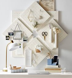 Style Tile 2.0 Peg Board. Add a 3-D element to your organization. Our versatile Style Tile Pegboard lets you choose the pieces that best suit your space and decor. Tiles are sold individually and look great hung on their own or grouped together for a statement-making display.