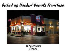 Landed 3 Dunkin' Donuts Franchises