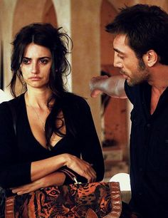 "sty-gd: "" Penelope Cruz and Javier Bardem in Vicky Cristina Barcelona "" - Woody Allen film Vicky Cristina Barcelona, Beau Film, Javier Bardem, Woody Allen, Penelope Cruz Movies, I Love Cinema, Insecure Women, Provocateur, Shows"