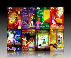 Madelyn Alt - Bewitching Mysteries (paranormal cozy mystery series) I've read and reread these books and can hardly wait till she publishes the next. Highly recommend for those who enjoy fiction with a magickal flair. <3