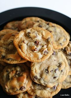 The New York Times Chocolate Chip Cookies 2 cups minus 2 tablespoons (8 1/2 ounces) cake flour 1 2/3 cups (8 1/2 ounces) bread flour 1...