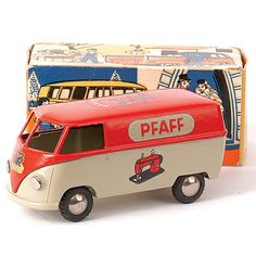 Vintage #PFAFF toy made by Tenko in the 1950.s - 1960's in Denmark.