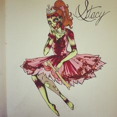 zombie prom queen cartoon - Google Search