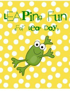 Leap Day activities!