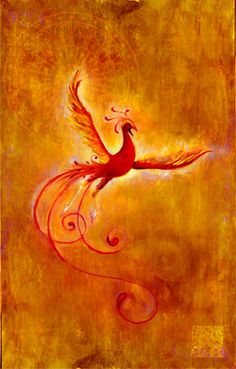 Phoenix tattoo idea.