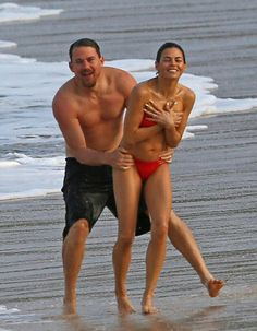 Channing Tatum and Jenna Dewan looked incredibly fit and happy as they hit the beach for a romantic getaway in Hawaii on Thursday, February 16 — read Hawaii Pictures, Vacation Pictures, Channing Tatum, Everly Tatum, Jenna Lee, Jenna Dewan, Couple Beach, Step Up, Janet Jackson