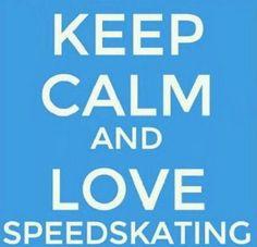 Calm?  Speedskating?....ok