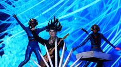 Another view of the opening segment of Empire of the Sun live performance, Rock in Rio, May 2015