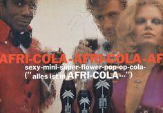 """Afri-Cola: """"Alles ist in Afri-Cola"""" - Plakat von Charles Wilp aus dem Jahre 1968."""