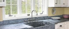 As granite becomes almost ubiquitous, buyers are wowed by stylish Corian, quartz, and even cork.