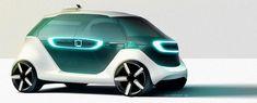 Passenger vehicle concept designs.