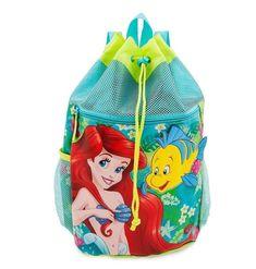Disney Little Mermaid Ariel Flounder Backpack Swim Bag Pool Tote NEW #Disney #Backpack