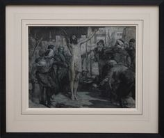 Solomon Joseph Solomon ~ Signed grisaille painting with green and gold undertones 1897 For sale at: IM (Therefore) fine art & manuscripts Original fine art (not a print or reproduction) Grisaille, Pre Raphaelite, Solomon, Painted Signs, Green And Gold, Joseph, Original Art, Fine Art, Antiques