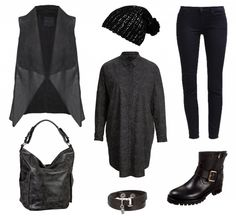 #Frühlingoutfit Black is the new Black ♥ #outfit #Damenoutfit #outfitdestages #dresslove