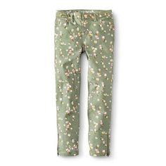 Girls' Floral Print Super Skinny Jean #floral #print