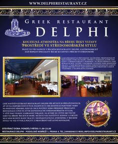 Návrh inzerátu pro restauraci Delphi