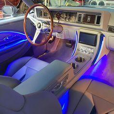 Platinum grey for this #gbody#cutlass #californiaupholstery
