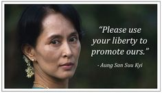 Best Aung San Suu Kyi Peoples Leader In Burma Images  Burma  Aung San Suu Kyi  A Powerful Leader Working For Freedom In Burma Also  Called Myanmar Essay Topics For Research Paper also Essay Paper Checker Argumentative Essay High School