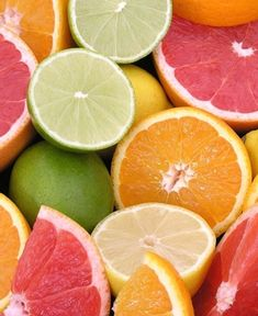 colores citricos.