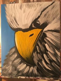 Amazing eagle painting