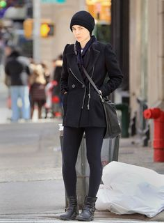 Love her. Love her style.
