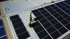 This photo is of one of our solar panel installations in Cape Town, South Africa. The panels being installed are JA Solar Glass on Glass Bifacial modules Solar Power Energy, Solar Power System, Solar Panel Installation, Solar Panels, Power Backup, Cape Town South Africa, Panel Systems, Homes, Business