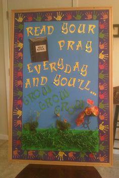 Children Bulletin Board at Church