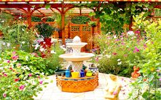 Wie man einen Mediterraner Patio-Garten anlegt – How to create a Mediterranean patio garden