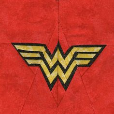 Lots of paper pieced DC/Marvel superhero quilt blocks!  Plus lots of others that you can try too!  Wonder Woman by liljabs, via Flickr