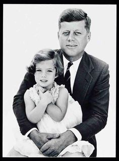 JFK and daughter Caroline