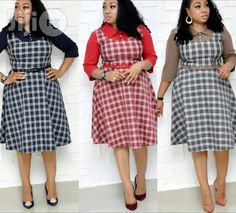❤ Need buy or sell Dresses Nigeria? ▷ More than 15450 best Fashionable Clothing deals for sale✓ start from ➔ ₦ ✮ Be famous, buy on Jiji. Couples African Outfits, African Attire, African Dress, Office Wear Dresses, Stylish Dresses, Classy Gowns, Classy Dress, Corporate Attire Women, African Print Dress Designs