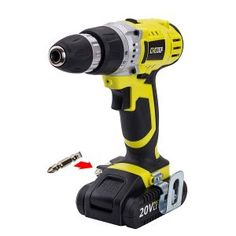 CACOOP Cordless Drill Driver, Variable Compact, Lightweight, With One 2 for sale online Cordless Drill Reviews, Drill Set, Drill Driver, Variables, Compact, Things To Sell, Power Tools, Charger, Ebay