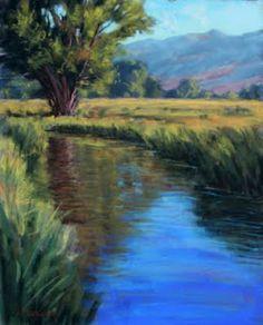 Painting Every Day.................http://josephmancuso.blogspot.com/2012/08/summer-creek-11x14-pastel.html