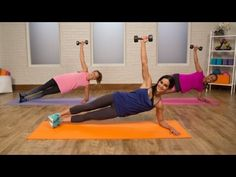 10-Minute Ab-Sculpting Workout | Class FitSugar - YouTube