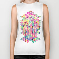"""Kick of Freshness"" Biker Tank by Fimbis on Society6."