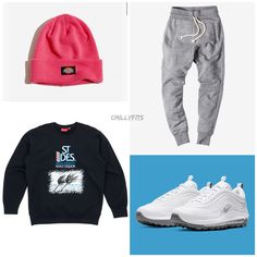 Dope Outfits For Guys, Swag Outfits Men, Sport Outfits, Men's Outfits, Estilo Street, Boy Fashion, Mens Fashion, Hype Clothing, Cute Sleepwear