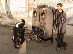 Bike soundsystems