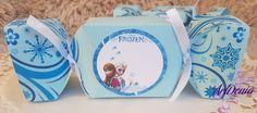 """Хартиени бонбони за детски празник с тематика от """"Frozen"""". Опаковки за лакомства и подаръчета, която ще направи празника  Ви специален by ArtDeniaHandmade on Etsy"""