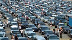 Embouteillages et Japon