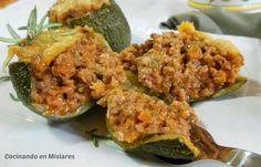 Cocinando en Mislares: CALABACINES RELLENOS